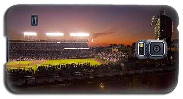 Wrigley Field At Dusk Galaxy S5 Case