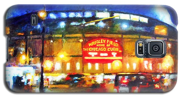 Wrigley Field Home Of Chicago Cubs Galaxy S5 Case