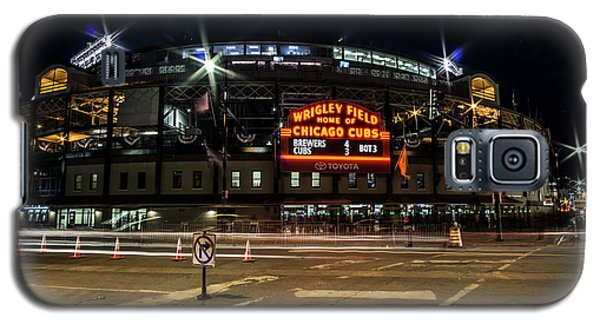 Wrigley Field Marquee At Night Galaxy S5 Case