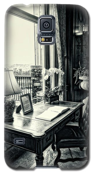 Writing Desk Bw Series 0808 Galaxy S5 Case