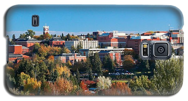 Wsu Autumn Panorama Galaxy S5 Case