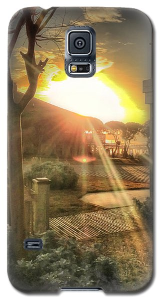 Galaxy S5 Case featuring the photograph Wu Wu's Beach by Phil Mancuso