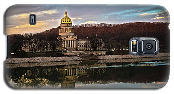 Wv State Capitol At Dusk Galaxy S5 Case