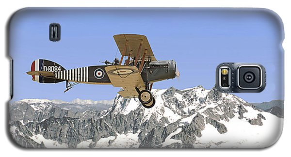 Galaxy S5 Case featuring the photograph Ww1 - Bristol Fighter by Pat Speirs