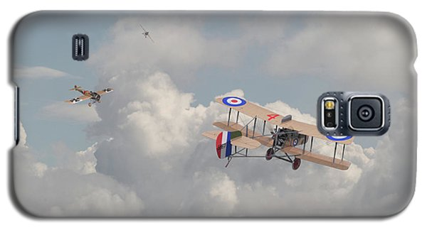 Galaxy S5 Case featuring the photograph Ww1 - The Fokker Scourge - Eindecker by Pat Speirs