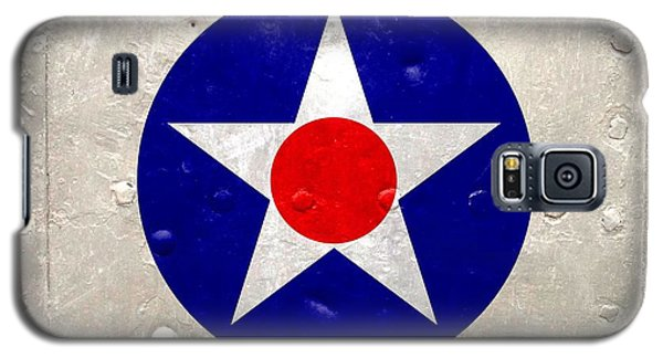 Galaxy S5 Case featuring the digital art Ww2 Army Air Corp Insignia by John Wills