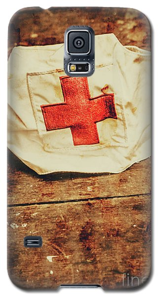 Ww2 Nurse Hat. Army Medical Corps Galaxy S5 Case