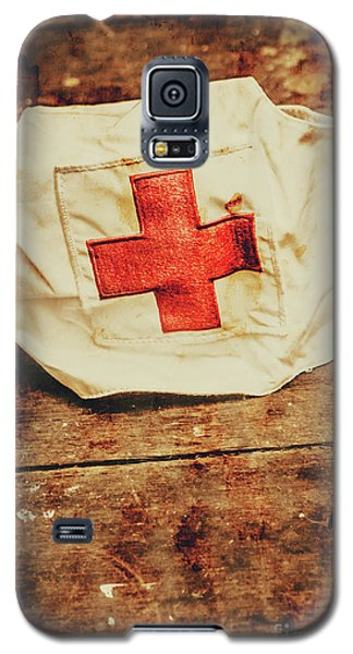 Ww2 Nurse Hat. Army Medical Corps Galaxy S5 Case