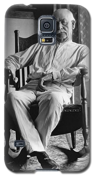 Wyatt Earp 1923 - Los Angeles Galaxy S5 Case by Daniel Hagerman