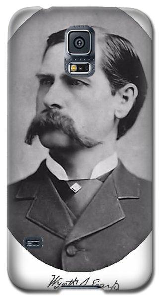 Wyatt Earp Autographed Galaxy S5 Case