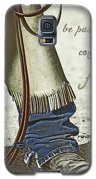 Galaxy S5 Case featuring the photograph Wyoming Fierce by Amanda Smith