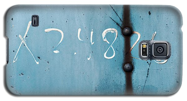 X 2.4826 ...slate Blue Galaxy S5 Case by Tom Druin