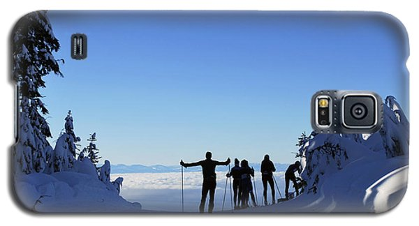 Galaxy S5 Case featuring the photograph X-country Skiing  by Bill Thomson