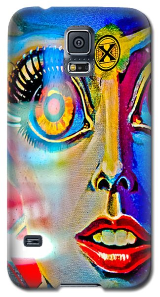 X Is For Xenon - Pinball Galaxy S5 Case by Colleen Kammerer