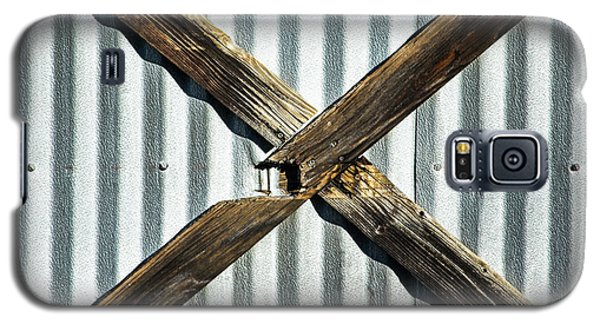 Galaxy S5 Case featuring the photograph X Marks The Spot by Karol Livote