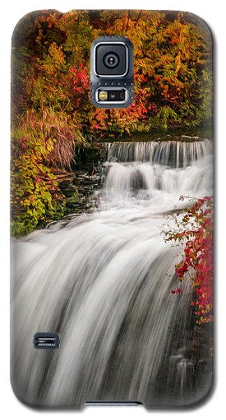 Fall At Minnehaha Falls Galaxy S5 Case