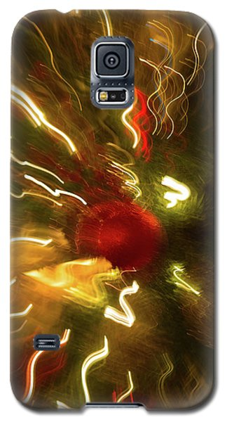Galaxy S5 Case featuring the photograph Xmas Burst 3 by Rebecca Cozart