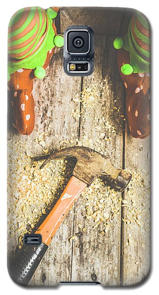 Elf Galaxy S5 Case - Xmas Workshop Elf by Jorgo Photography - Wall Art Gallery