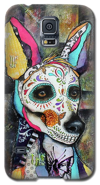 Xolo Mexican Hairless Day Of The Dead Galaxy S5 Case