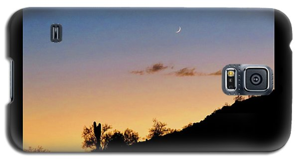 Y Cactus Sunset Moonrise Galaxy S5 Case