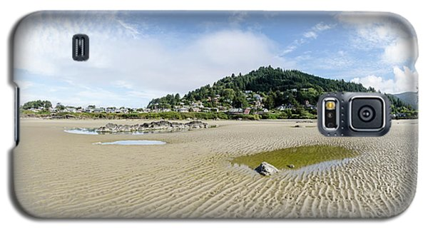 Yachats River At Low Tide Galaxy S5 Case