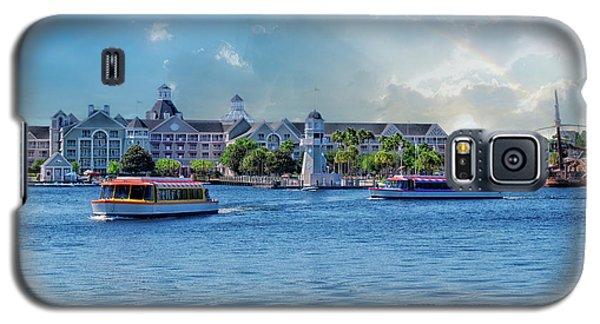 Yacht And Beach Club Walt Disney World Galaxy S5 Case by Thomas Woolworth