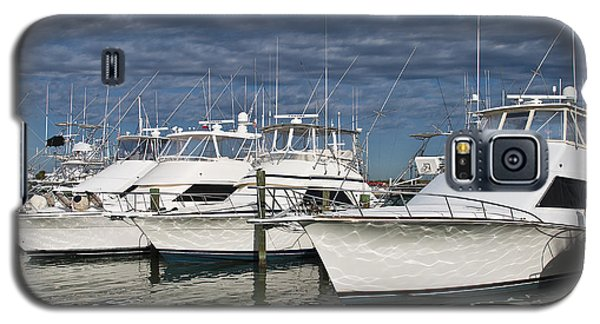 Yachts At The Dock Galaxy S5 Case