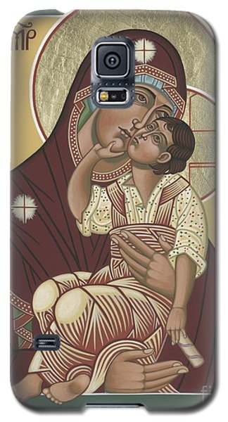 Galaxy S5 Case featuring the painting Yakhrom Icon Of The Mother Of God 258 by William Hart McNichols