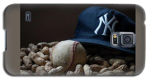 Yankee Cap Baseball And Peanuts Galaxy S5 Case