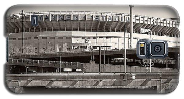Yankee Stadium Galaxy S5 Case - Yankee Stadium    1923  -  2008 by Daniel Hagerman