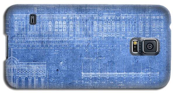 Yankee Stadium New York City Blueprints Galaxy S5 Case