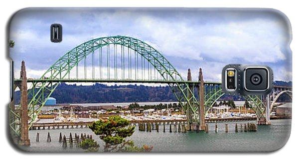Yaquina Bay Bridge Panorama Galaxy S5 Case