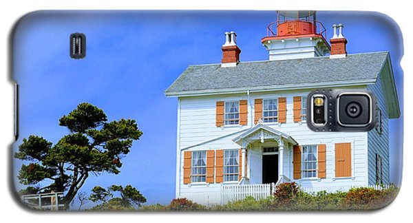 Yaquina Bay Lighthouse Galaxy S5 Case by AJ Schibig