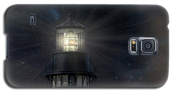 Yaquina Head At Night Galaxy S5 Case