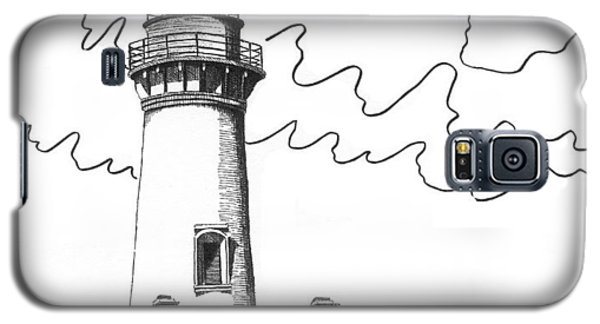Yaquina Head Lighthouse Galaxy S5 Case by Lawrence Tripoli