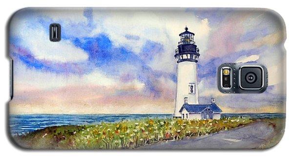 Yaquina Head Lighthouse - Springtime Galaxy S5 Case