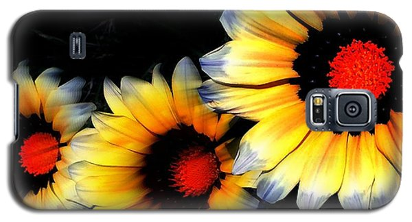 Yard Flowers Galaxy S5 Case