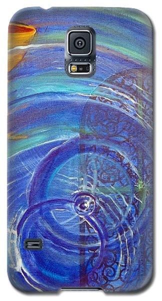 Yaweh El Shaddai Right Canvas Detail Galaxy S5 Case