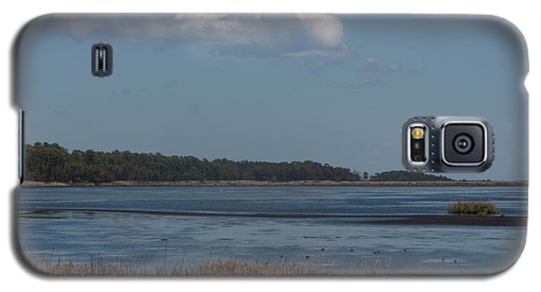 Galaxy S5 Case featuring the photograph Yawkey Wildlife Reguge - View From The Causeway by Suzanne Gaff
