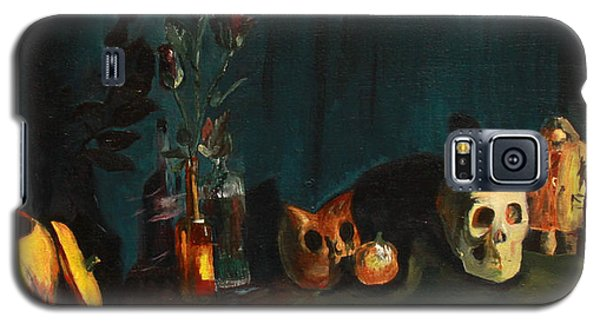 Yeah Its Halloween Galaxy S5 Case by Jane Autry