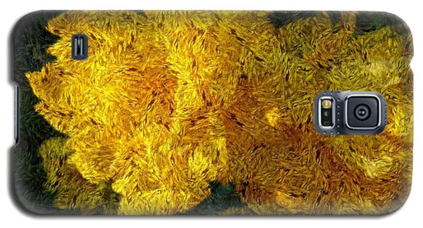 Yellow Abstraction Galaxy S5 Case
