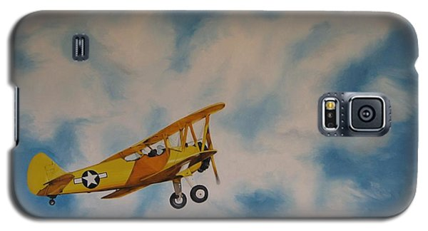 Yellow Airplane Galaxy S5 Case