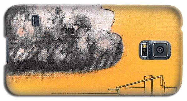 Yellow Alex Dark Cloud Galaxy S5 Case by Stan  Magnan