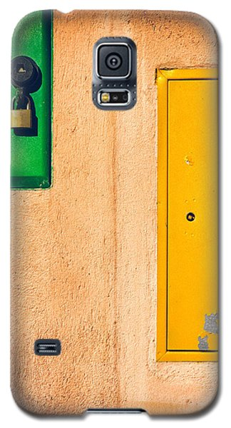 Yellow And Green Galaxy S5 Case