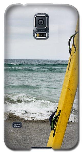 Yellow Surfboard Galaxy S5 Case