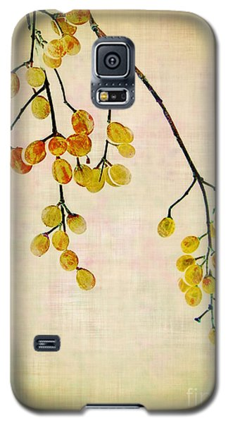 Yellow Berries Galaxy S5 Case