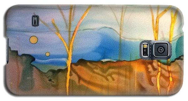 Yellow Birch Galaxy S5 Case by Pat Purdy