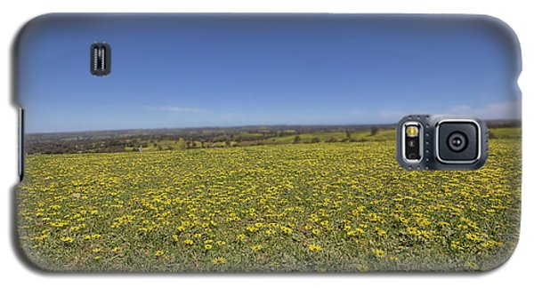 Galaxy S5 Case featuring the photograph Yellow Blanket II by Douglas Barnard