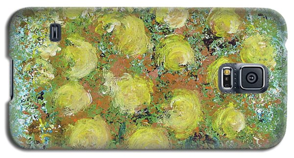 Yellow Bouquet Galaxy S5 Case