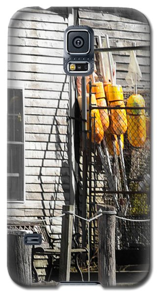 Yellow Bouys Galaxy S5 Case by Dick Botkin
